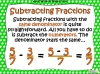 Adding and Subtracting Fractions - Year 5 (slide 19/49)