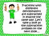 Adding and Subtracting Fractions - Year 5 (slide 31/49)
