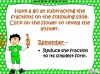 Adding and Subtracting Fractions - Year 5 (slide 33/49)