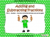 Adding and Subtracting Fractions - Year 5
