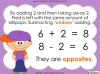 Addition and Subtraction are Opposites - Year 1 (slide 18/34)
