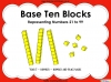 Base Ten Blocks - Representing Numbers 21 to 99 (slide 1/67)