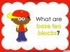 Base Ten Blocks - Representing Numbers 21 to 99 (slide 3/67)