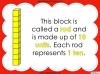 Base Ten Blocks - Representing Numbers 21 to 99 (slide 6/67)