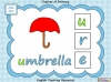 Beginning Sounds -  e, u, r (slide 10/15)