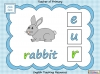 Beginning Sounds -  e, u, r (slide 5/15)
