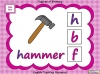 Beginning Sounds -  h, b, f, l (slide 3/15)