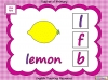 Beginning Sounds -  h, b, f, l (slide 5/15)