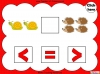 Beginning to Use Greater Than, Less Than and Equal To Signs - Year 1 (slide 5/20)