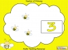 Busy Bee Counting Game (slide 3/14)