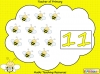 Busy Bee Counting Game (slide 4/14)