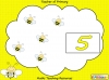 Busy Bee Counting Game (slide 5/14)