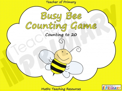 Busy Bee Counting Game