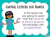 Capital Letters for Names (slide 2/11)