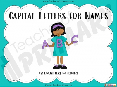 Capital Letters for Names