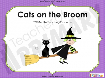 Cats on the Broom - EYFS