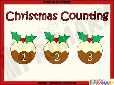 Christmas Counting teaching resource