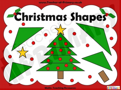 Christmas Shapes teaching resource