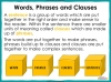 Clauses and Phrases - Year 5 and 6 (slide 3/23)