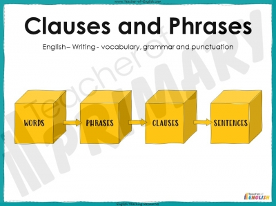 Clauses and Phrases - Year 5 and 6