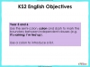 Colons - Year 5 and 6 (slide 2/20)