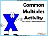 Common Multiples Activity - Year 5 (slide 1/8)