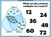 Common Multiples Activity - Year 5 (slide 4/8)