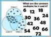 Common Multiples Activity - Year 5 (slide 5/8)