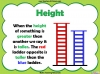 Comparing Lengths and Heights - Year 1 (slide 18/31)