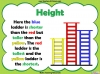 Comparing Lengths and Heights - Year 1 (slide 20/31)
