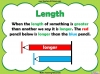 Comparing Lengths and Heights - Year 1 (slide 3/31)