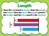 Comparing Lengths and Heights - Year 1 (slide 5/31)