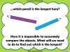 Comparing Lengths and Heights - Year 1 (slide 9/31)