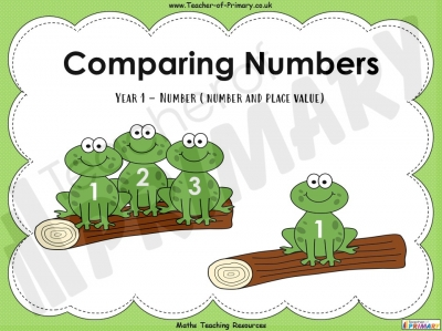 Comparing Numbers - Year 1
