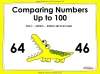 Comparing Numbers Up to 100 - Year 2 (slide 1/46)
