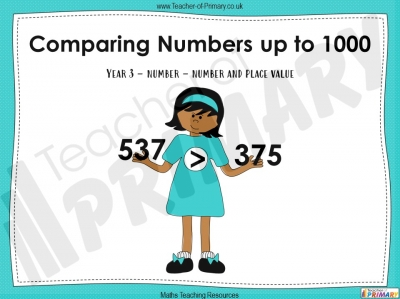 Comparing Numbers up to 1000 - Year 3