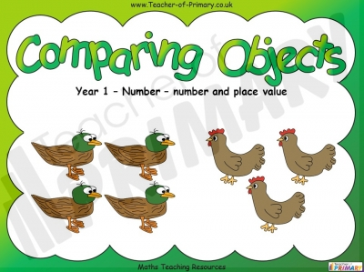 Comparing Objects - Year 1