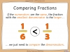 Comparing and Ordering Fractions - Year 3 (slide 20/68)