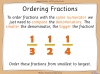 Comparing and Ordering Fractions - Year 3 (slide 41/68)