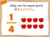 Comparing and Ordering Fractions - Year 3 (slide 5/68)