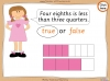 Comparing and Ordering Fractions - Year 3 (slide 59/68)