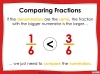 Comparing and Ordering Fractions - Year 5 (slide 10/69)