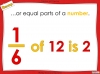 Comparing and Ordering Fractions - Year 5 (slide 7/69)