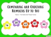 Comparing and Ordering Numbers Up to 100 - Year 2 (slide 1/31)