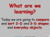 Comparing and Sorting Shapes - Year 2 (slide 2/19)