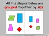 Comparing and Sorting Shapes - Year 2 (slide 6/19)