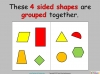 Comparing and Sorting Shapes - Year 2 (slide 7/19)