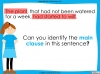Complex Sentences - Year 5 and 6 (slide 6/18)