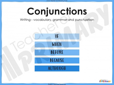 Conjunctions - KS2