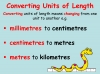Converting and Comparing Units of Length - Year 4 (slide 3/38)